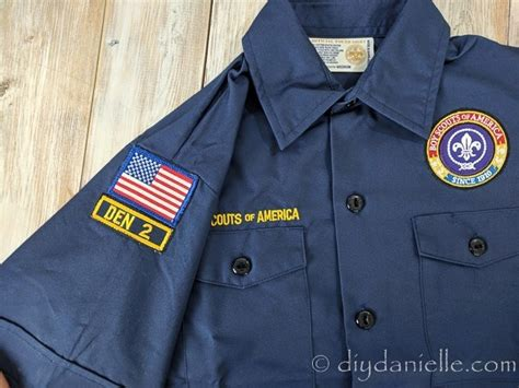 sewing tutorial  easy ways  attach patches   scout
