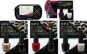 OPI Holiday Gift Sets 2014 Press Release