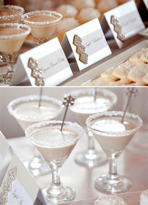 Winter Party Drinks  Event Ideas Pinterest