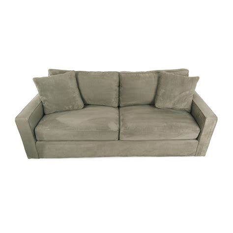 room and board lenox sofa 69 off crate and barrel crate barrel simone daybed