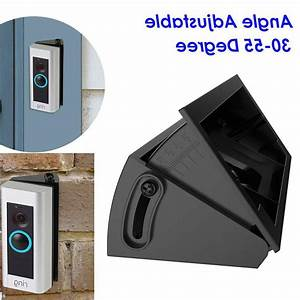Adjustable Ring Angle Mount Video Doorbell Adapter Mounting