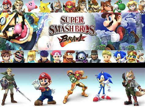 About Super Smash Bros Brawl Games Preview And Review