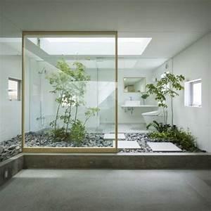 la decoration japonaise et l39interieur japonais en 50 With meuble salle de bain japonais