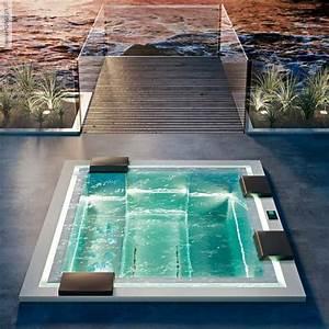 Mini Whirlpool Balkon : badepool zen 280x235 mit ghost system und beleuchtung ~ Watch28wear.com Haus und Dekorationen