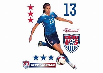 Morgan Alex Soccer Team Teammate Fathead Usa