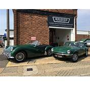 Triumph TR3 And GT6  Bridge Classic Cars