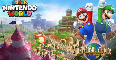 Super Mario Is Coming To Theme Parks