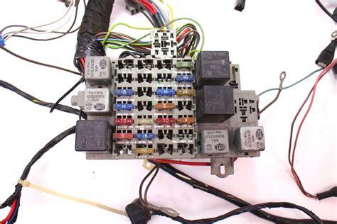 dash interior wiring harness fuse box 81 83 vw rabbit mk1 175 971 051 af ebay