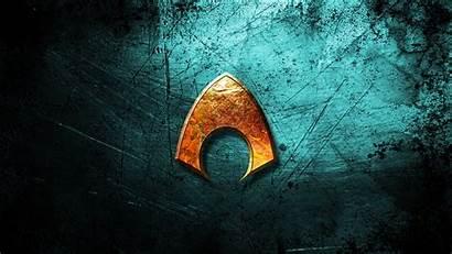 Aquaman Wallpapers Symbol Wallpapersafari