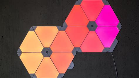 nanoleaf aurora review  modern   light   home
