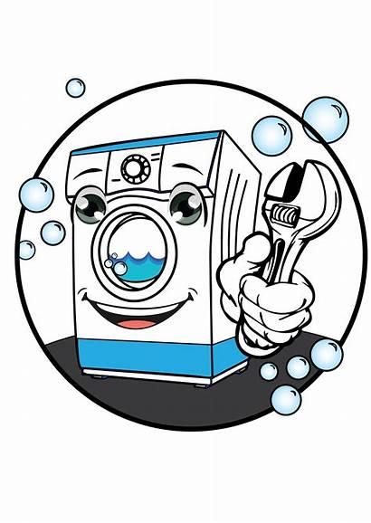 Washing Machine Repair Clipart Electrician Appliance Transparent