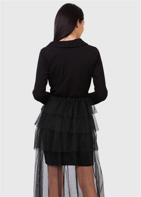 Anastasia itāļu melna vakarkleita ar rakstiem - Apģērbu ...