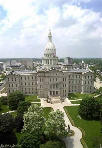 Michigan Senate Capitol State Building Gov Mlive