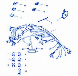 Triumph Tt600 2004 Wire Electrical Circuit Wiring Diagram