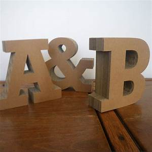 chunky cardboard letters by letterfest With large cardboard letters