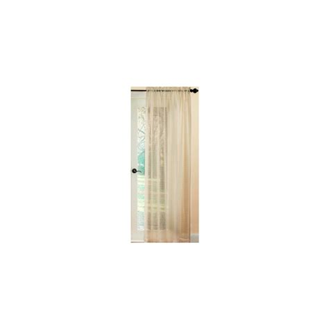shop waverly waverly home classics 84 in l checked taupe