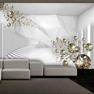 innenarchitektur unglaublich wohnzimmer tapete With balkon teppich mit 3d tapete esszimmer