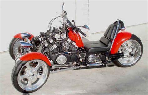 Types Of Reverse Trike Motorcycles