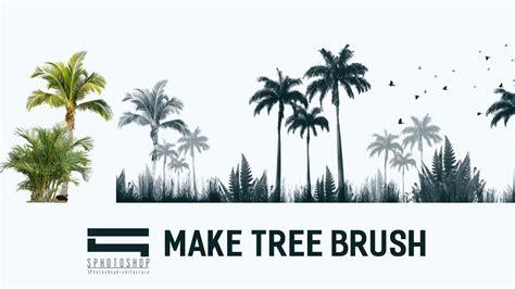 Make Tree Brush Photoshop  Photoshop Architecture Youtube