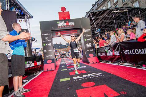 Ironman-copenhagen,-woman-at-finish-line-running ...