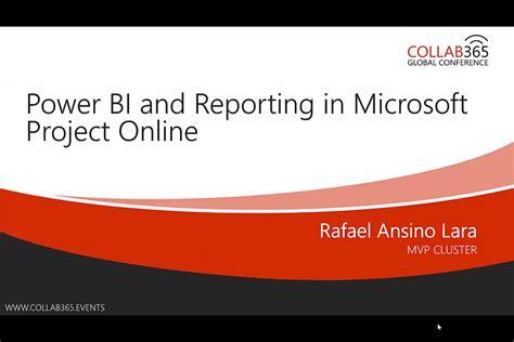 power bi  reporting  microsoft project