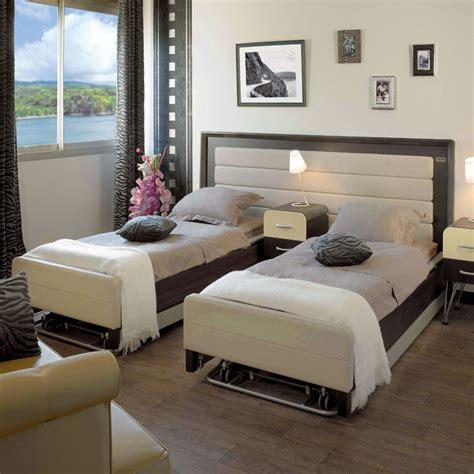 canapé cuir modulable lit médicalisé 2 personnes confort