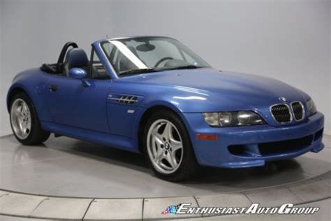 Purchase Used 2001 Bmw Z3 M Roadster  S54 315 Hp Engine