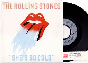 The Rolling Stones - She's So Cold - EMI 2C 008 64081 ...
