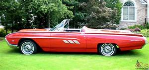 1963 Ford Thunderbird Tbird Convertible Sports Roadster