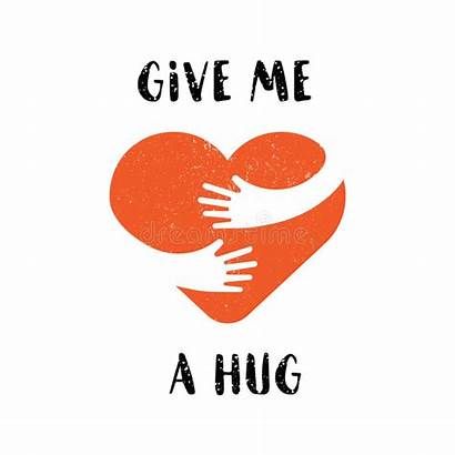 Give Hug Yourself Abbraccio Jezelf Kram Liefde
