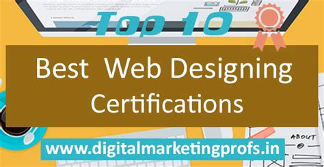 top 10 digital marketing certifications top 10 best web designing certifications digital