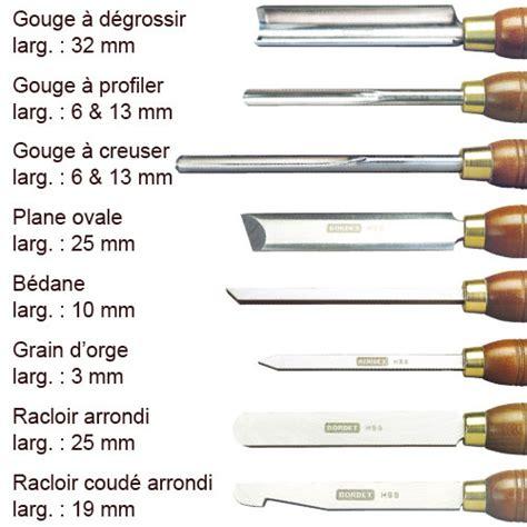 lot de 10 outils de tournage bordet coffrets trousses lots le tournage sur bois bordet