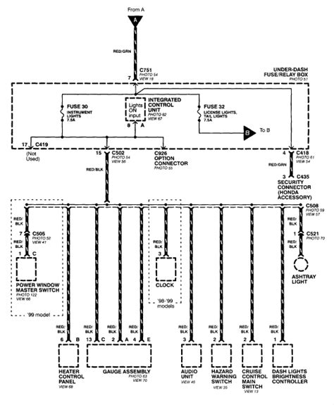 2000 Crv Wiring Diagram by I A 2000 Honda Crv The Lights And Interior