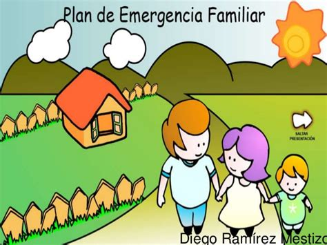 plan de emergencias familiar 4 2 8 plan familiar de emergencias