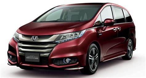 Honda Odyssey Hybrid Goes On Sale In Japan