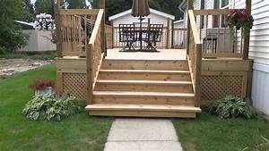 Deck Stairs Led Project