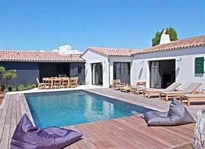 location villa avec piscine sur l39ile de re atlantic With location maison ile de re avec piscine