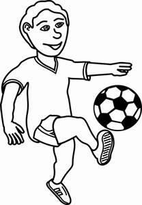 Soccer Playing Boy Clipart | i2Clipart - Royalty Free ...