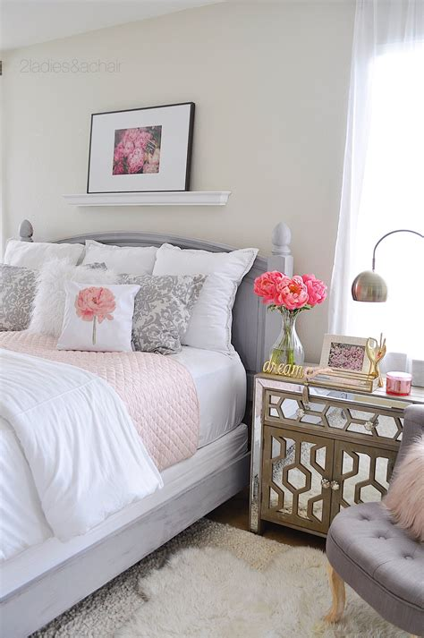 Blush Pink and Grey Bedroom Ideas