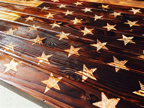 American flag perfect for some magazines like guns & ammo. American Henry — Rustic American Flag Coffee Table