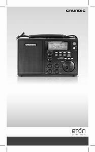 Grundig Field Radio S450dlx User Manual