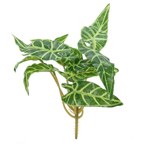 Artificial Plants Indoor Outdoor Fake Leaf Foliage Bush