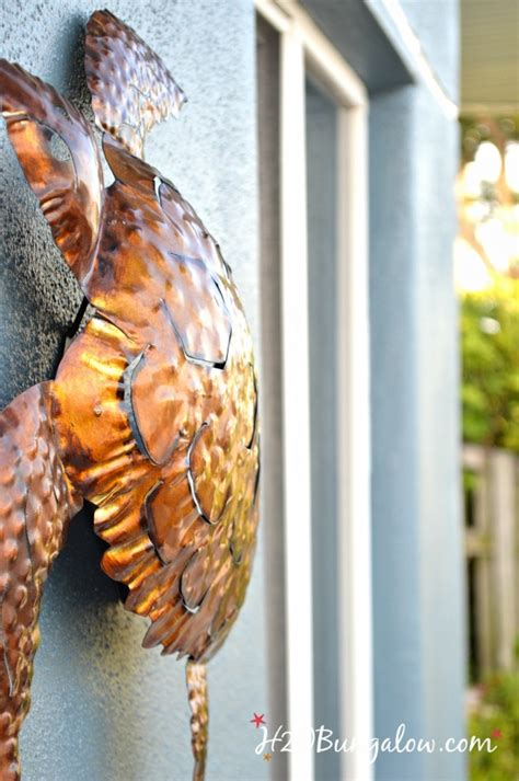 How To Hang Outdoor Wall Decor Without Nails H20bungalow
