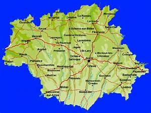 Carte Du Gers Détaillée : visite du gers 32 ~ Maxctalentgroup.com Avis de Voitures