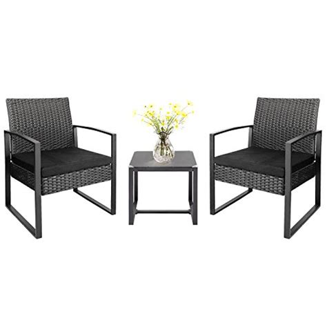 Wicker Patio Set Clearance by Homall 3 Pieces Patio Furniture Sets Clearance Bistro Set