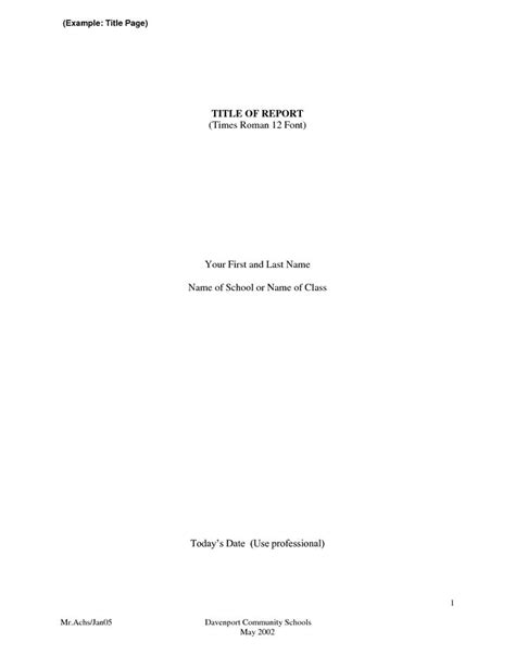 Apa Format Title Page The 25 Best Apa Format Title Page Ideas On