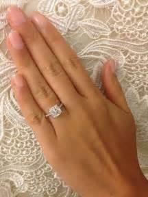 square cut engagement rings gorgeous square cut engagement rings