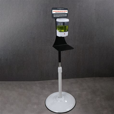 Automatic Touchless Hand Sanitizer Station w Floor Stand ...