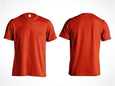 mockup t shirt men 39 s gildan cotton t shirt psd mockup front and back