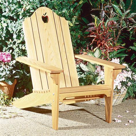 folding adirondack chair large format paper woodworking plan  wood magazine